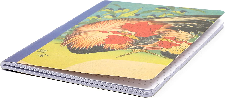 Hokusai tama/ño A5, 6 unidades Cuaderno de viaje con tapa blanda