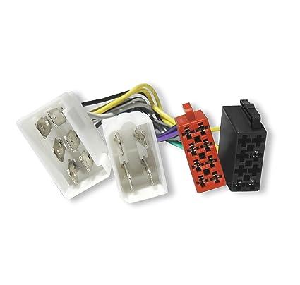 1196p # Auto Radio Adaptador Cable Cable para radio de Fiat Cinquecento, TEMPRA,