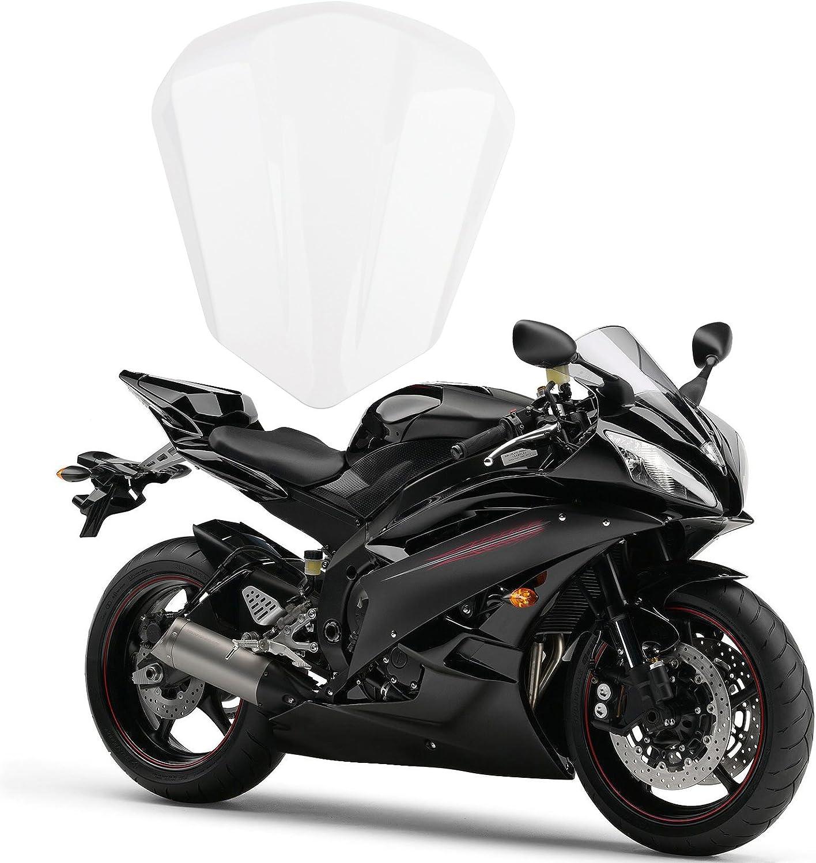 Artudatech Motocicleta Funda para Asiento Trasero Carenado Moto Rear Seat Cowl Moto Colin para Yamaha YZF R6 2006 2007