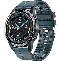 LIGE Reloj Inteligente, Elegante y Clásico Reloj Deportivo Bluetooth y Fitness para Hombres con Podómetro, Monitor…