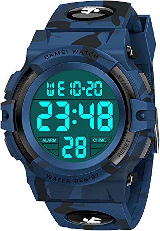 SOKY Reloj Digital LED Resistente al Agua para Miños - Regalos para Niños