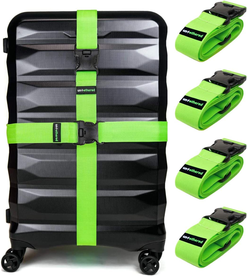 Untethered Luggage Straps (4-Pack)