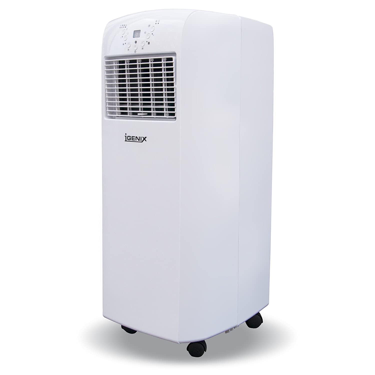 Igenix IG9902 3 In 1 Portable Air Conditioner With Heating Function, 9000  BTU, 1100 W   White: Amazon.co.uk: Kitchen U0026 Home