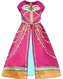 JiaDuo Girls Princess Jasmine Costume Toddler Halloween Party Dress