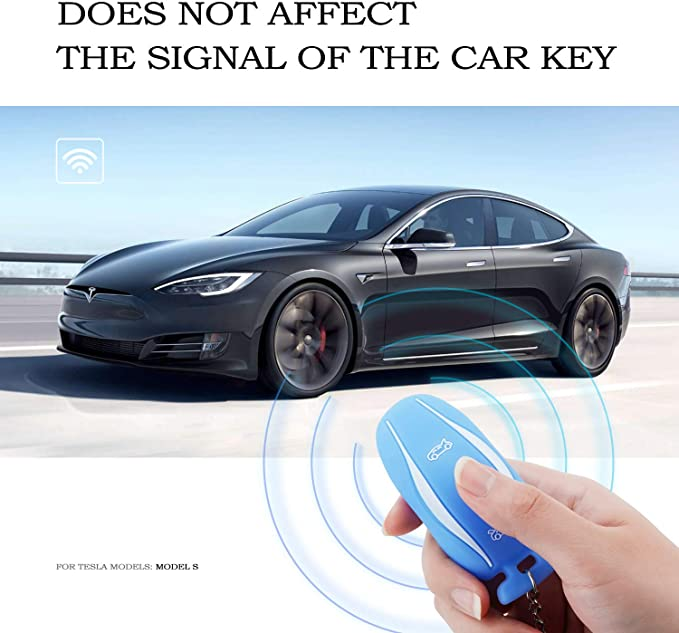 Olaike Key Fob Cover Für Tesla Model 3 Computer Zubehör