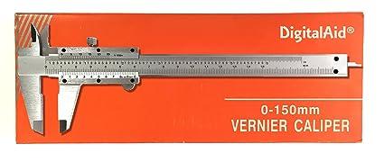 Amazon.com: Medidor de calibre digital de acero inoxidable ...