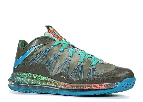 Nike Air Max Lebron 10 Low  Swamp Thing  - 579765-301 - Size 44.5-EU ... 59a8a892b42