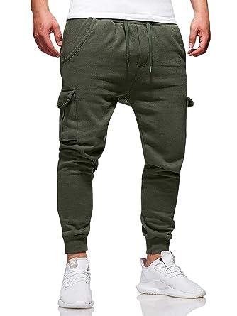 Modestil Gutscheincodes kaufen Herren Jogger Cargo Hose Stretch Chino Jeans Mode Sporthose Freizeithose