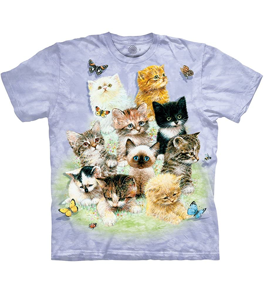 2feef0f1 Amazon.com: The Mountain Kids Ten Kittens T-Shirt: Clothing