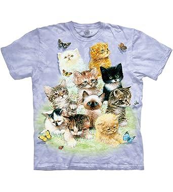 7b374f45bf Amazon.com: The Mountain Kids Ten Kittens T-Shirt: Clothing