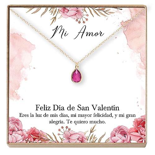 Amazon.com: Dear Ava Regalo para San Valentín: Joyería para ...