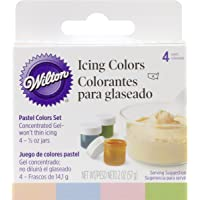Wilton 4-Piece Icing Color Set Pastel