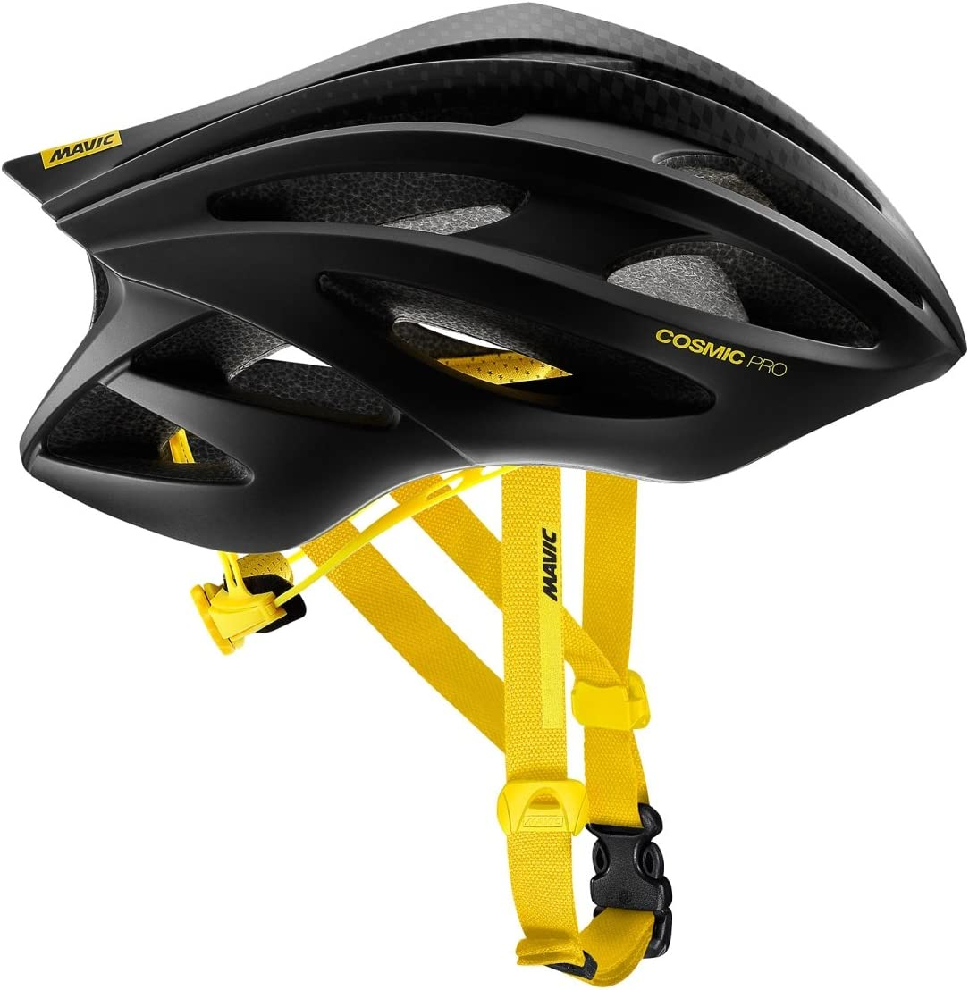 Mavic Cosmic Summer Cycling Headband Unisex One Size Black//Yellow New