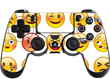 the grafix studio funny faces playstation 4 ps4 controller sticker