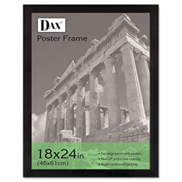 dax poster frames hangs verticallyhorizontally 18 x 24 inches ebony