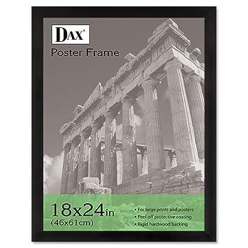 dax poster frames hangs verticallyhorizontally 18 x 24 inches ebony