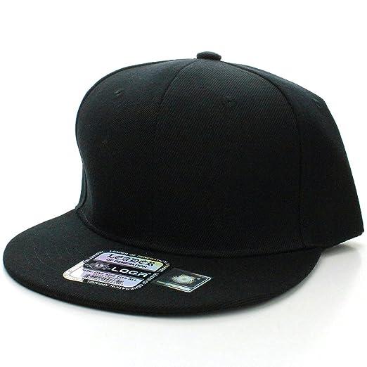 Amazon.com  L.O.G.A. Plain Adjustable Snapback Hats Caps (Many ... 4aff4bd2125