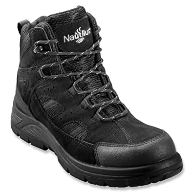 Amazon.com: Nautilus N9548 Men's Waterproof EH Safety Boots - Black: Shoes