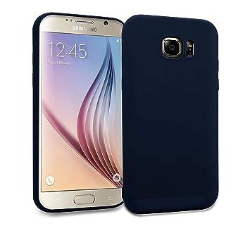 MyGadget Funda Slim para Samsung Galaxy S6 Edge Delgada 0,8mm ...