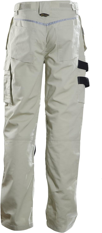 DBlade Canvas Mens Work Pants CE EN Certified Industrial Protection Work Wear
