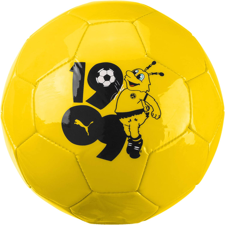 PUMA BVB Kids Graphic Mini Ball Balón de Fútbol, Adultos Unisex ...