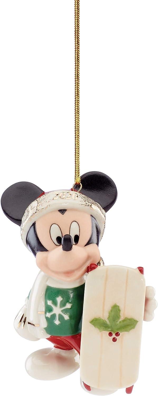 Lenox 2020 Let It Snow Mickey Ornament, 0.35 LB, Multi