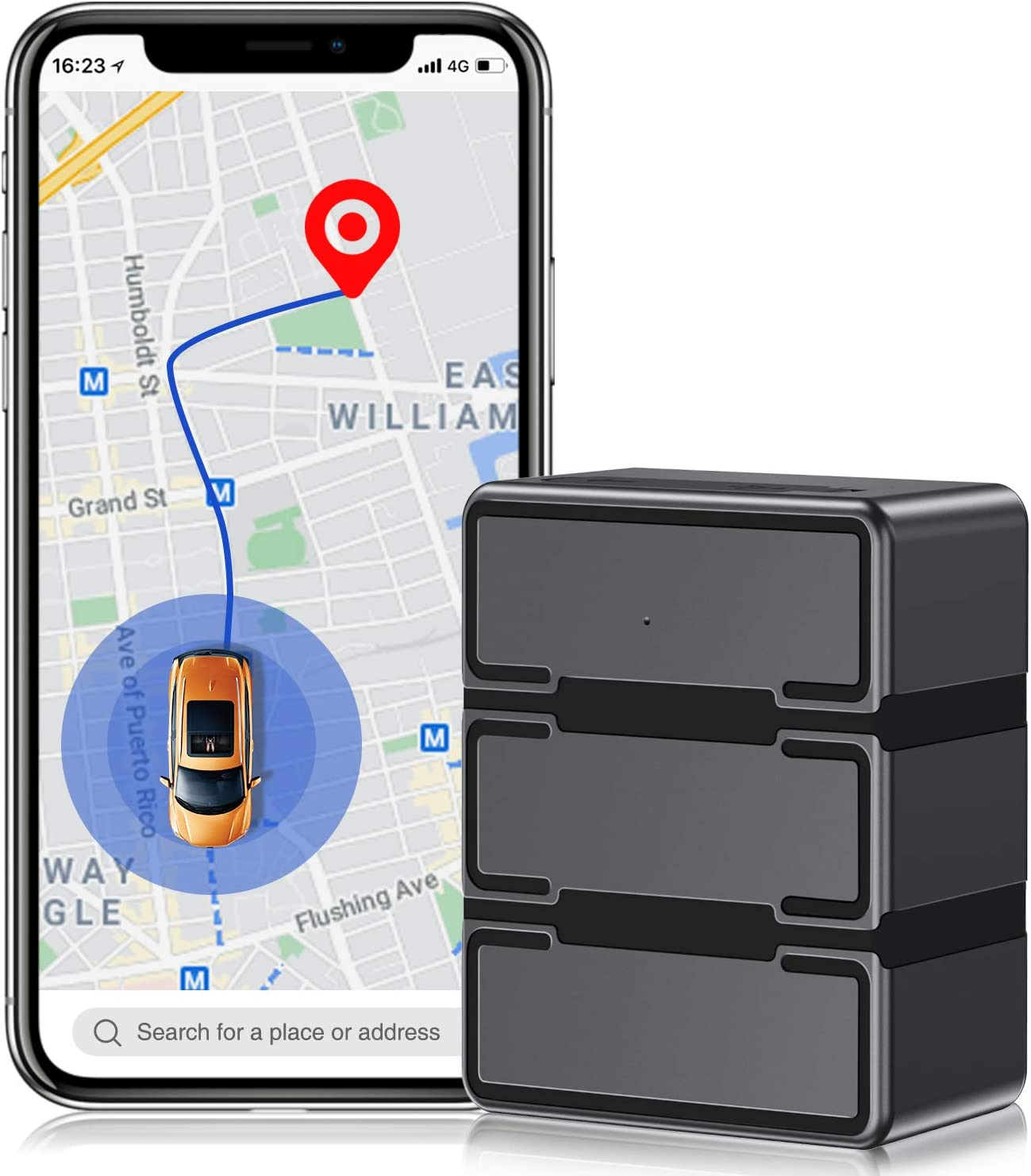 4G LTE GPS Tracker for Vehicles