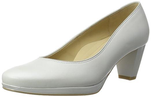 Toulouse-Plateau - Zapatos de Tacón Mujer, Color Blanco, Talla 41.5 EU Ara