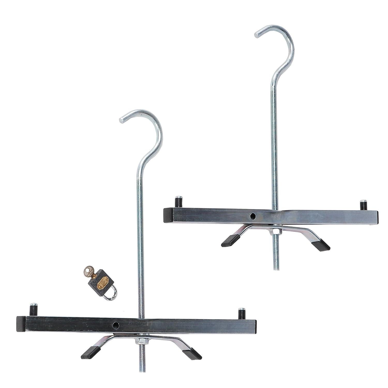 Horizon Ladders-Online Système de fixation d'échelle pour galerie Transportez vos échelles sur la galerie de votre véhicule en toute sécurité Livré avec cadenas TB Davies 1400-005