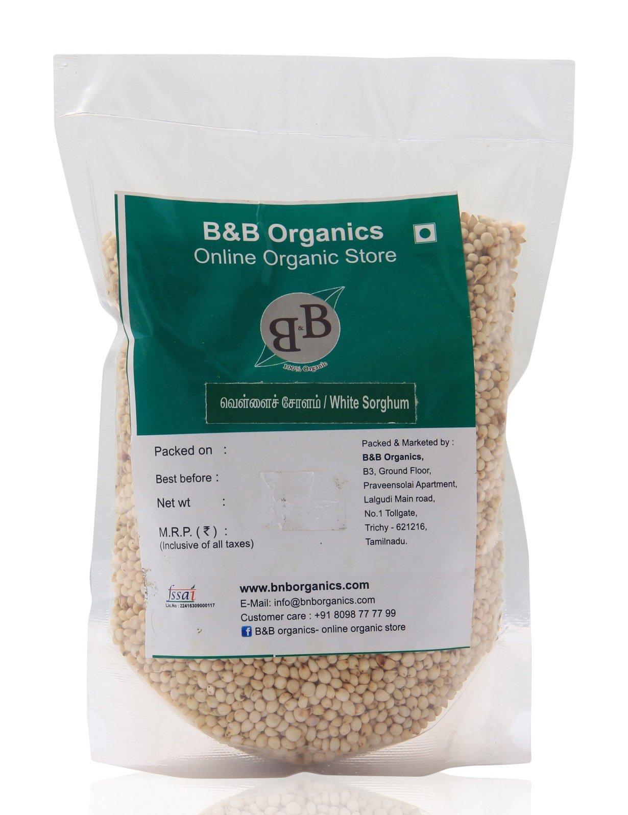 B&B Organics White Sorghum 10 kg