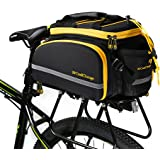 MaxMiles Bicycle Pannier Bag Bike Rear Pannier Bag Expedition Rack Bag Waterproof 35liters 2100cubic inches