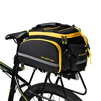 Coolchange Bicycle Pannier Bag Bike Rear Expedition Rack Waterproof 35liters 2100cubic Inches