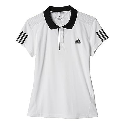 adidas Club Polo, Mujer, (Blanco/Negro), XL