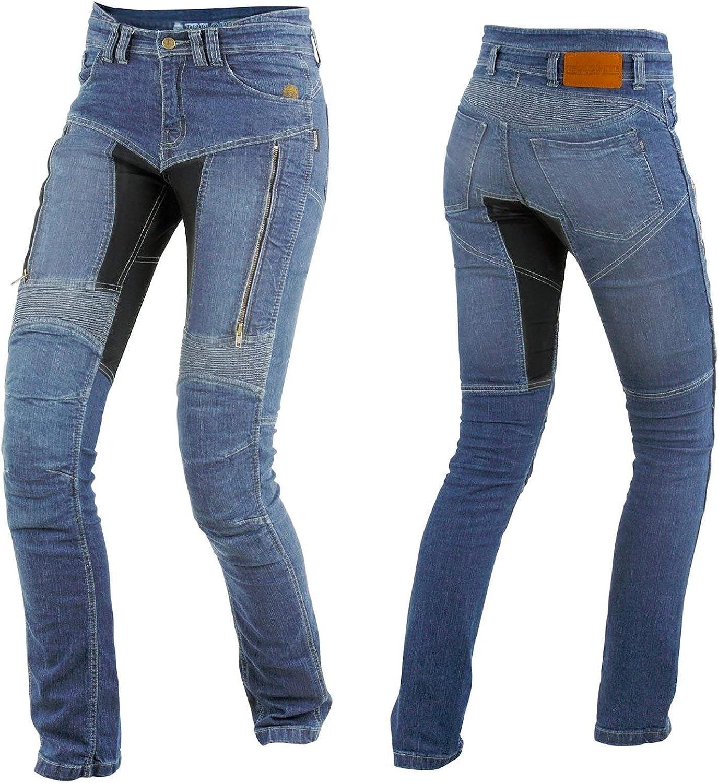 tril obite parado Dupont Kevlar Jeans Mujer–Azul
