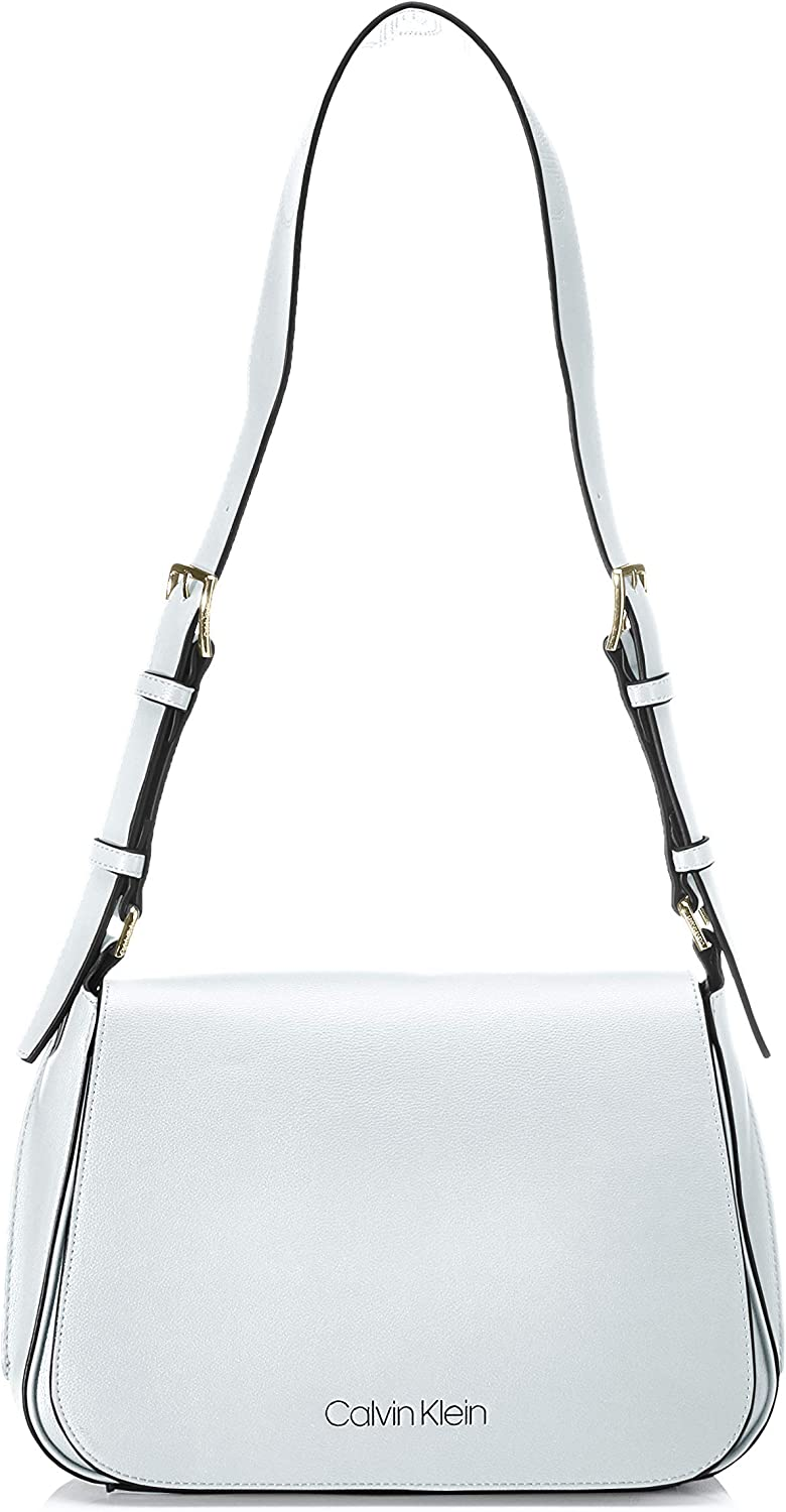 Calvin Klein Punched SML Satchel, Bolso de Hombro para Mujer, 0.1x0.1x0.1 centimeters (W x H x L)