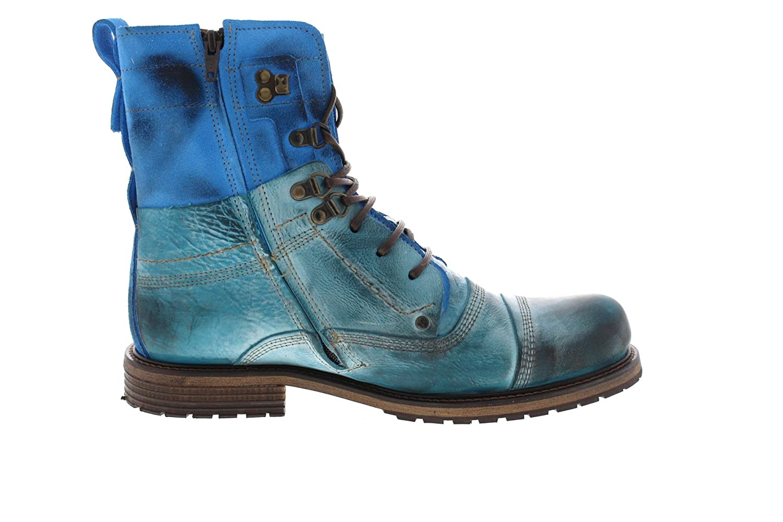 Yellow Cab Schuhe - Lt. Boots Soldier 18017 lt Blue Lt. - Blue 2b2f98