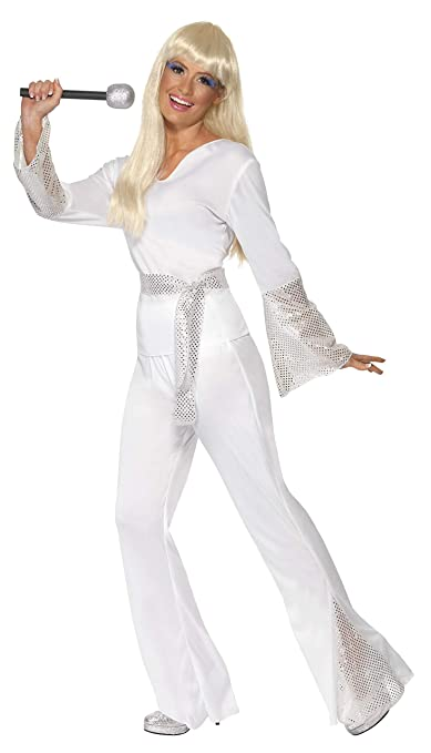 Hippie Costumes, Hippie Outfits Smiffys 70s Disco Lady Costume $19.55 AT vintagedancer.com
