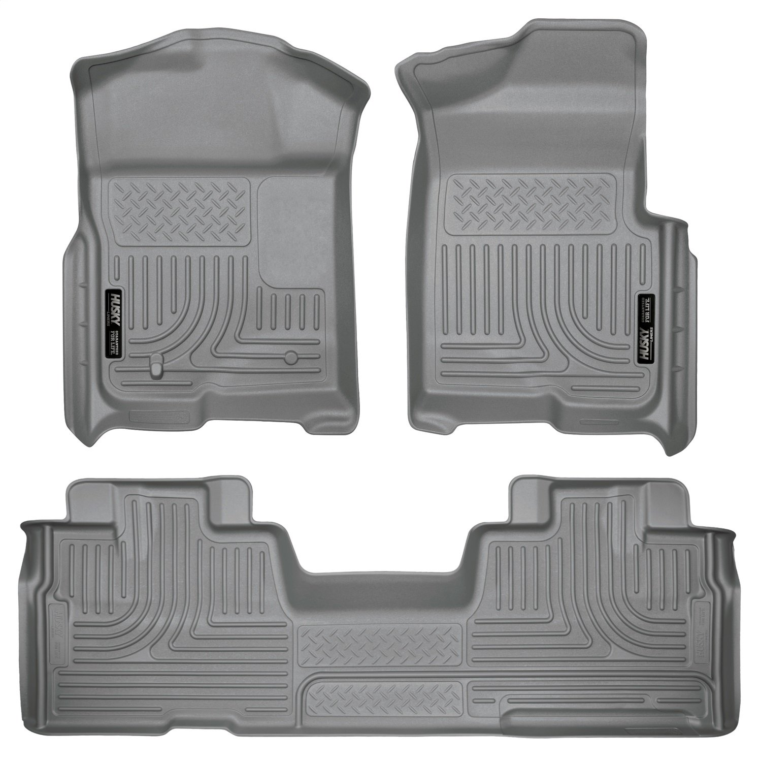 Husky Liners Front /& 2nd Seat Floor Liners Fits 09-14 F150 SuperCab 98343