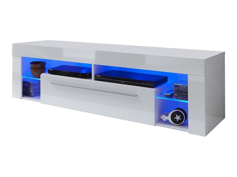 Tv sideboard  trendteam SC85001 TV Möbel Lowboard, BxHxT 153 x 44 x 44 cm, Weiss ...