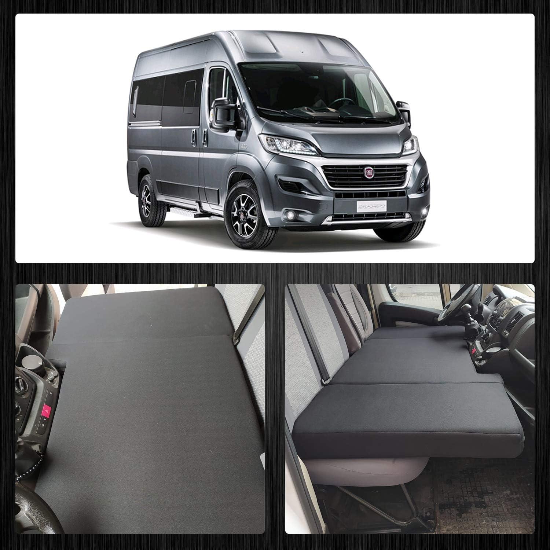 BREMER Fundas de asiento Camper Cama de Conductor Cama Compatible con Wohnmobil/Peugeot Boxer a partir de 2006 – 2014: Amazon.es: Coche y moto