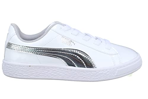 Puma Basket Mirror AC PS, Zapatillas para Niñas: Amazon.es: Zapatos y complementos