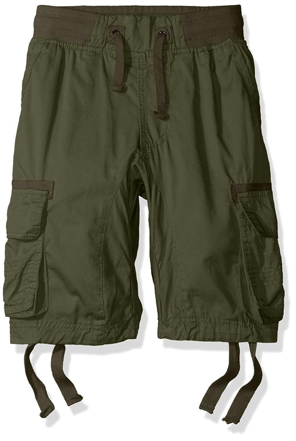 Southpole boys Big Boys Jogger Shorts With Cargo Pockets in Basic Solid Colors 9005-3366