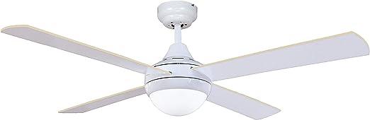 Sulion Agora Ventilador De Techo, Blanco: Amazon.es: Iluminación