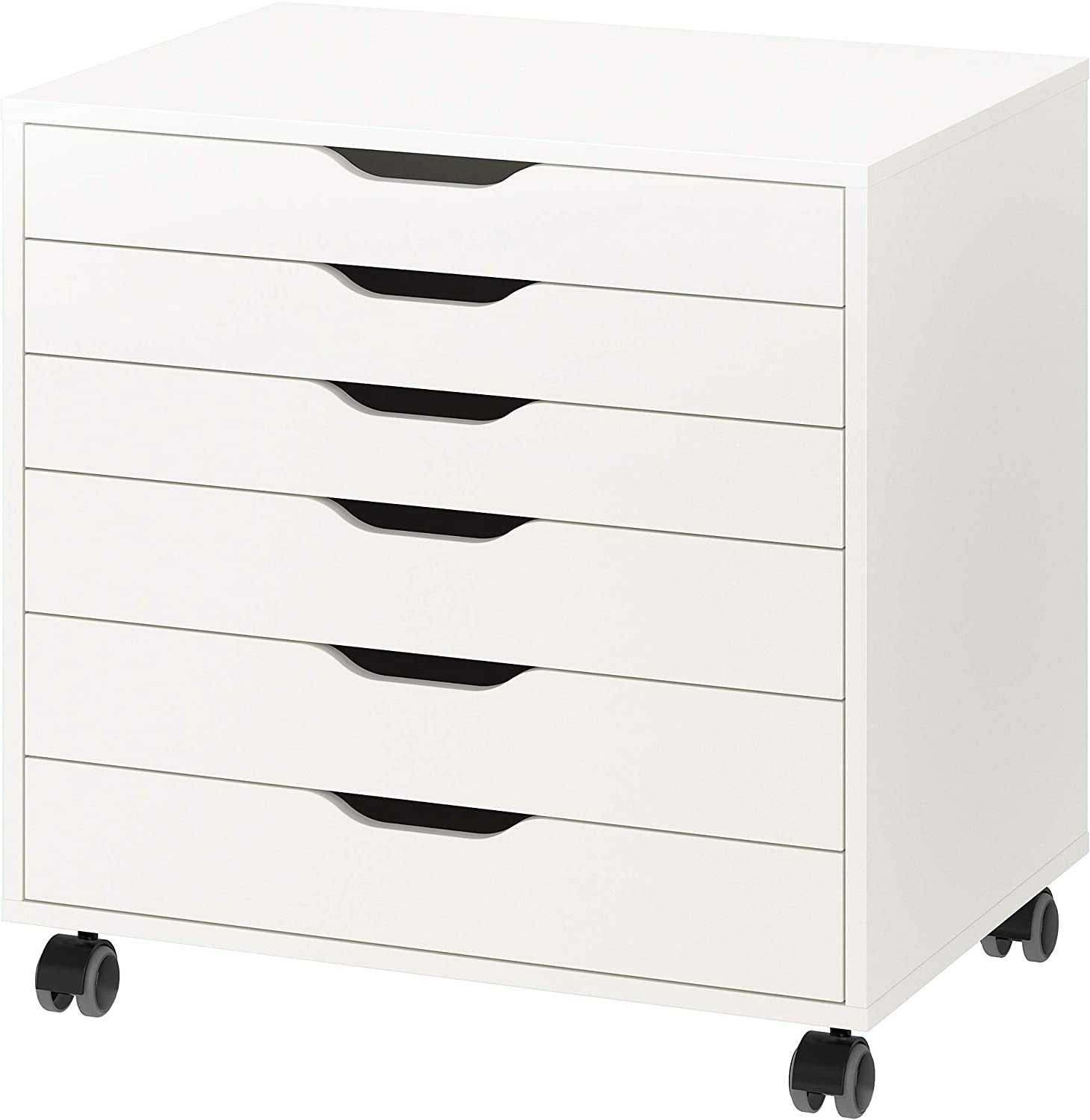 IKEA Alex Drawer Unit on Casters, White
