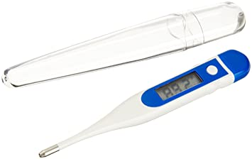 ADC Hypothermia Digital Extended Range Stick Thermometer with 2-Piece Plastic Storage Case, Adtemp