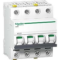 Schneider a9F04402–Disyuntor ic60N, 4P, 2A, C charakteristik