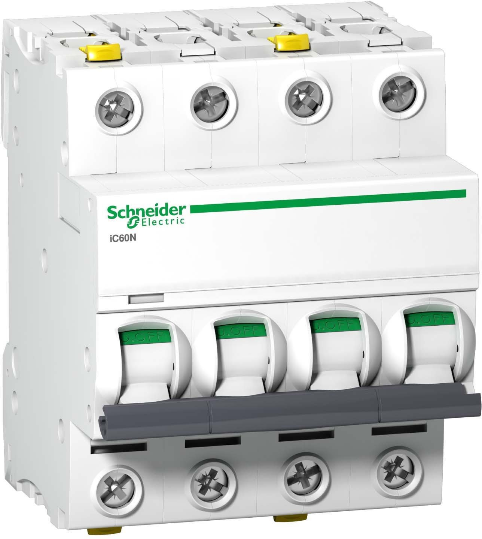 Schneider Electric A9F03420 Corta Circuito 4 - Corta circuitos (20 A, IP20, -35-70 ° C, -40-85 ° C, 72 mm, 78,5 mm) -35-70 °C -40-85 °C