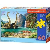 Castorland 60 Parça Dinazorların Dünyası Çocuk Puzzle