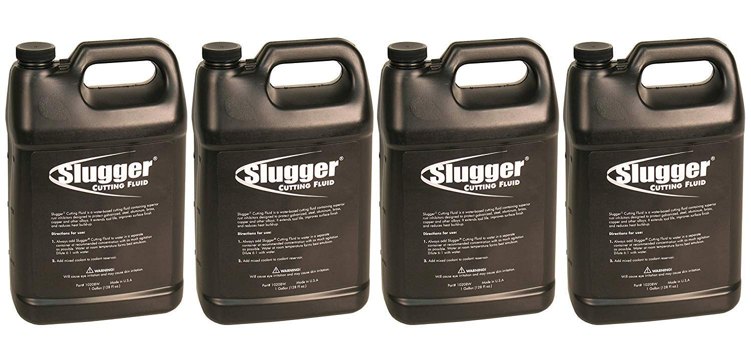 Jancy Slugger 10208W 1 Gallon Water Soluable Cutting Fluid (Fоur Paсk) by Jancy