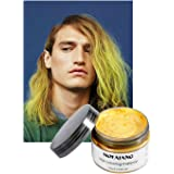 Vakker Hair Wax Color Styling Cream Mud, Natural Hairstyle Dye Pomade, Party Cosplay